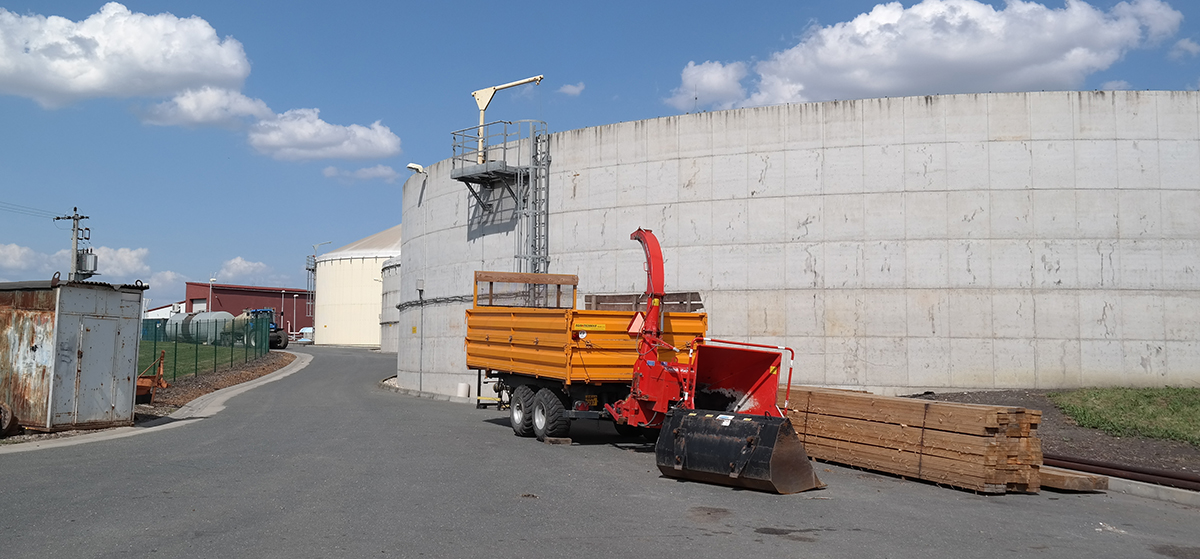 biogas-plant Knezice