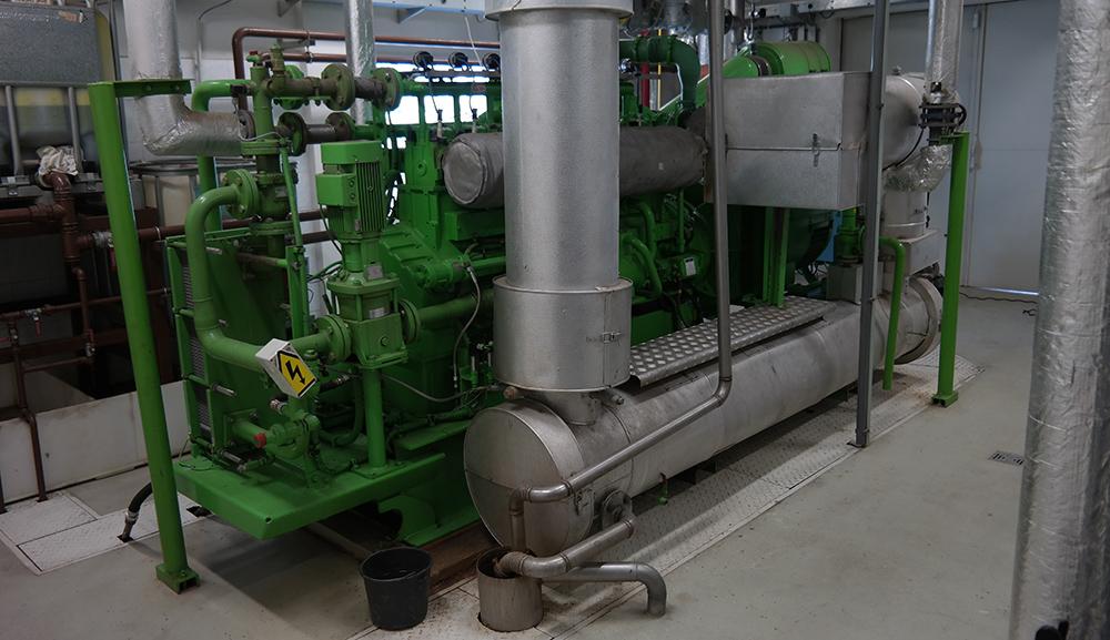 electricity generator - biogas plant Knezice