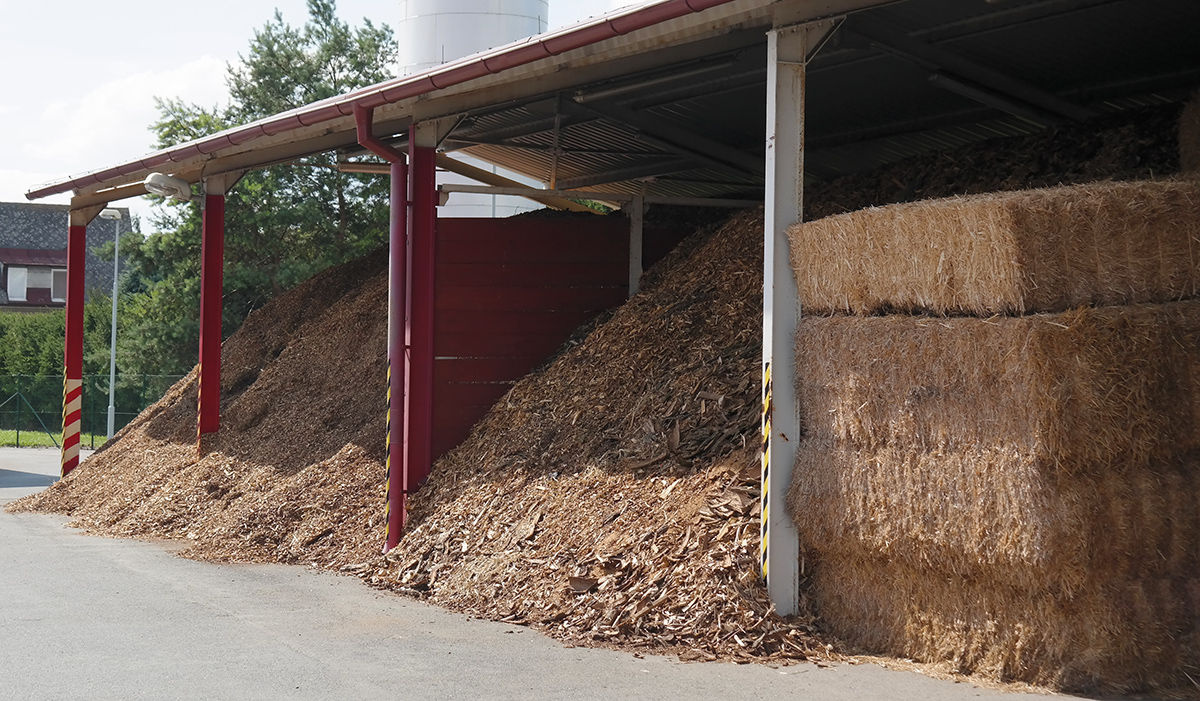 Knezice biomass storage